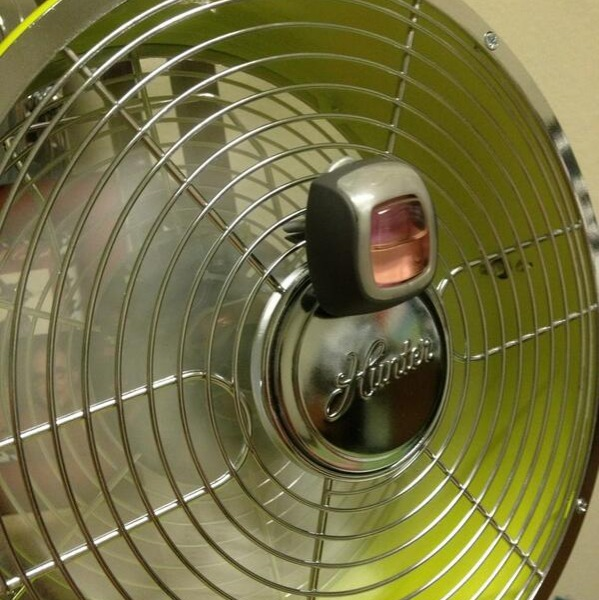 attach a car air freshener to your fan hack
