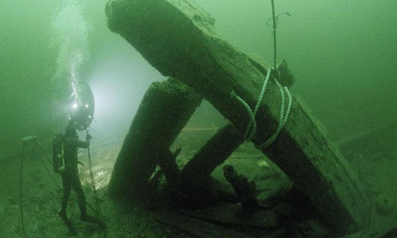 kronon shipwreck 1980