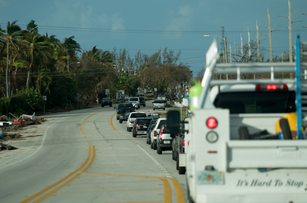 line of traffic in florida