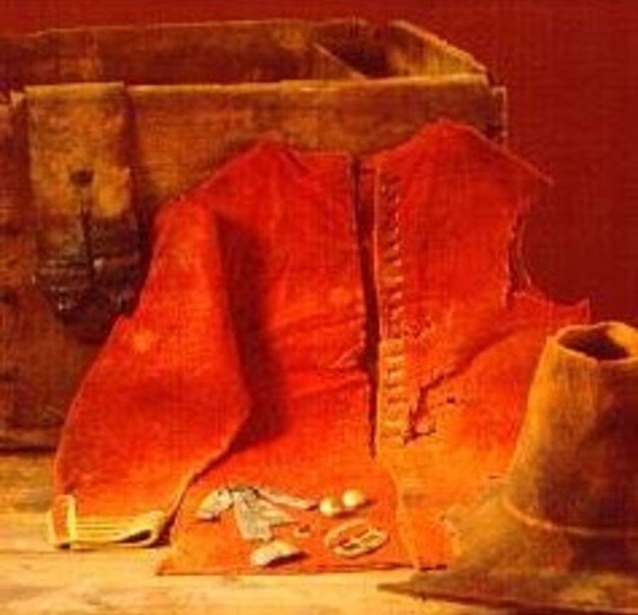clothing from the shipwreck