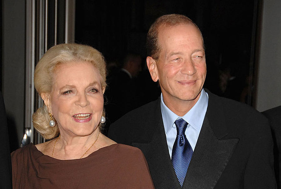 stephen and bacall in later years