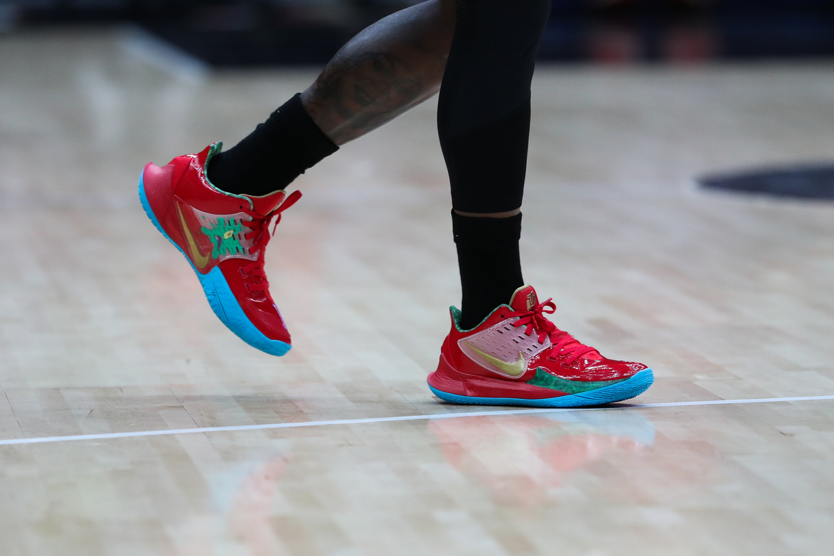 shoes on the court
