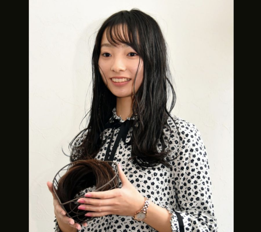 She wants to make people happy with her hair