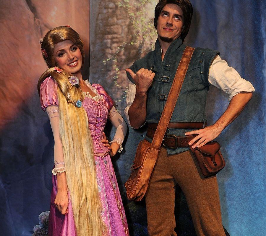 What is important happening in  Disney Actors Rapunzal