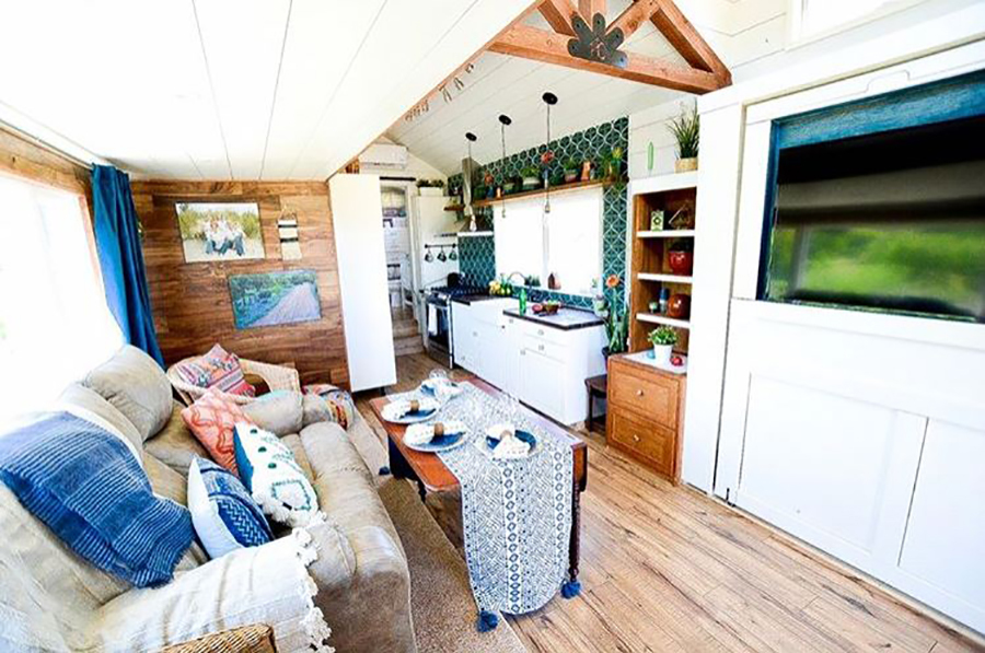 tiny house with minimal space