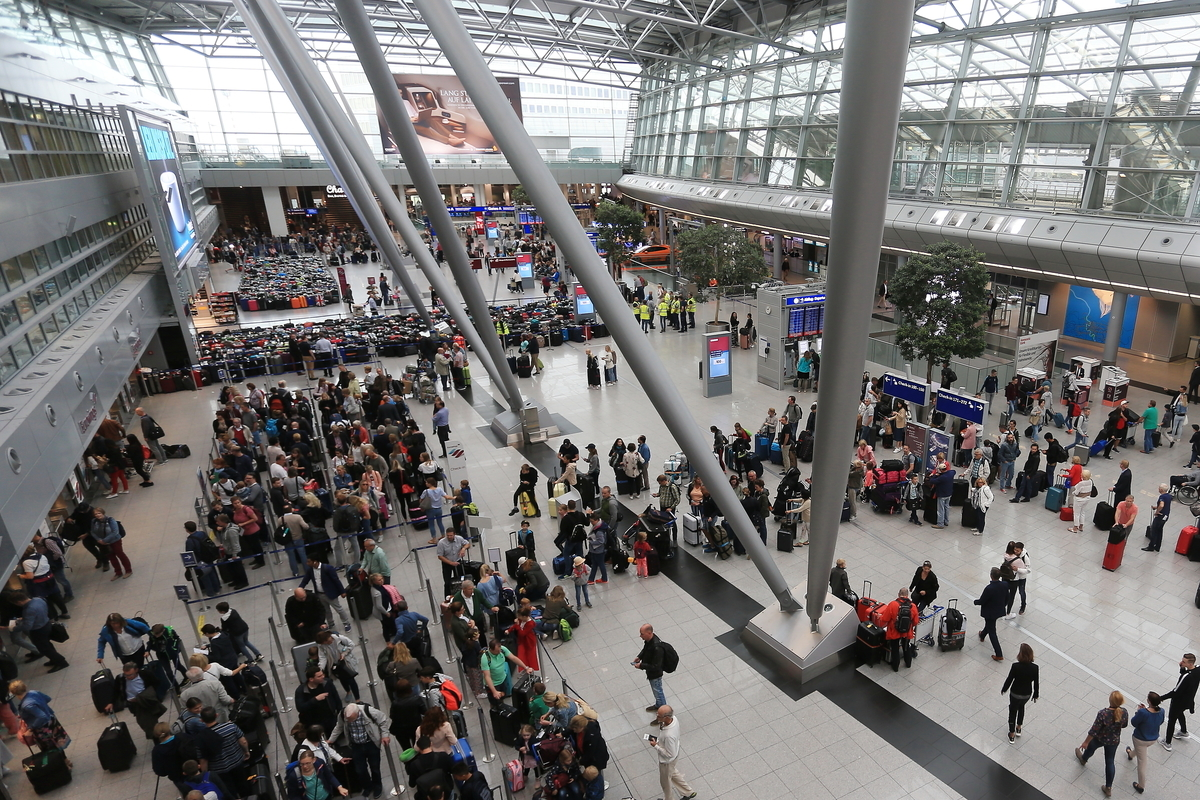 big airport terminal