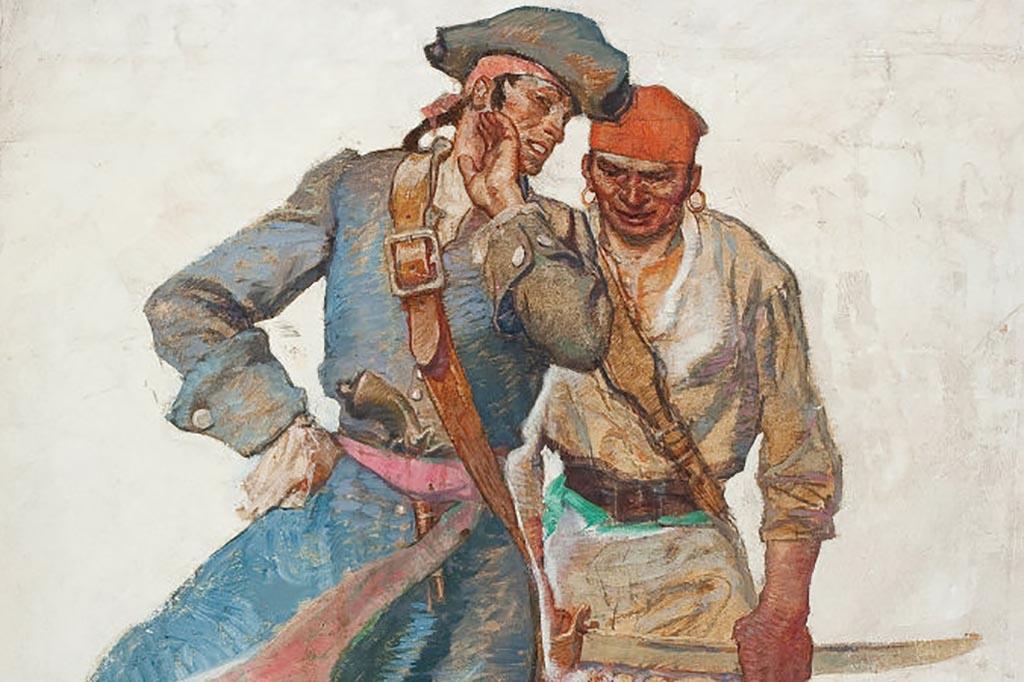 Pirates talking