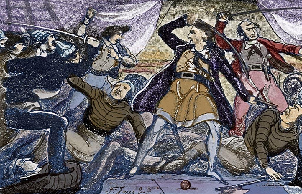 Pirates Fighting