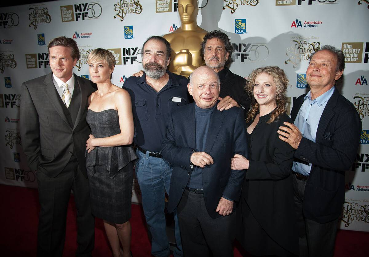 princess bride cast at reunion red carpet