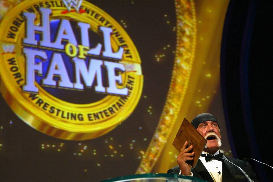 hulk hogan wwe hall fo fame