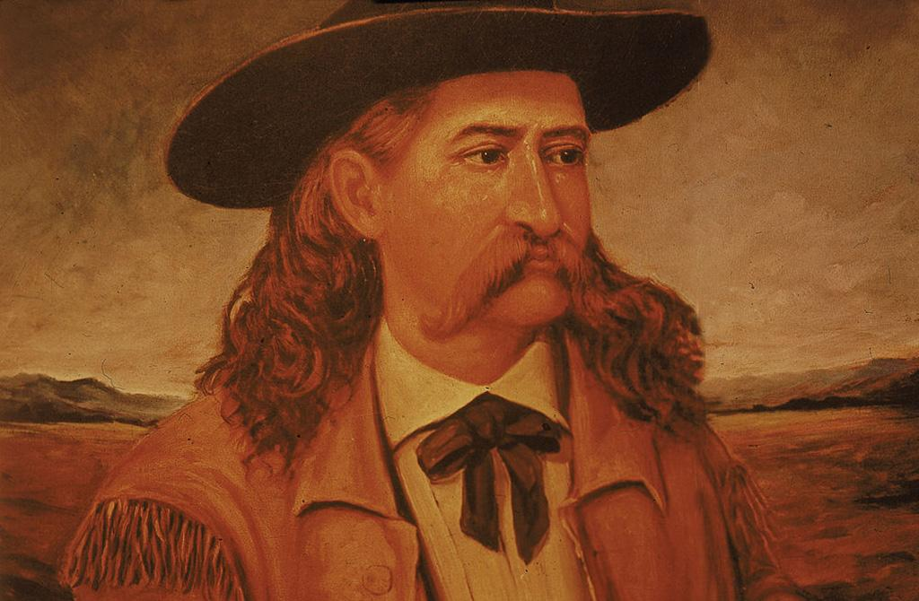 Wild Bill Hickock with long hair