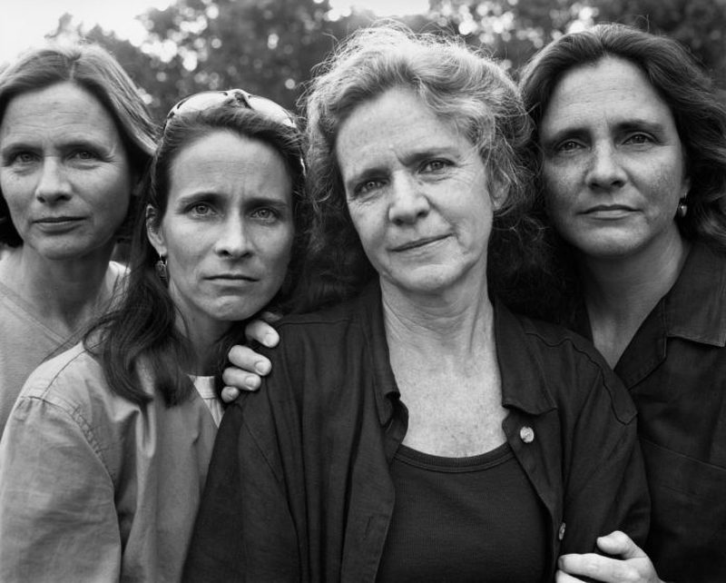 four sisters together