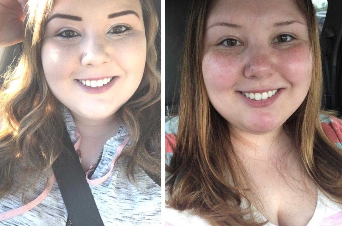 cierra makeup car selfies