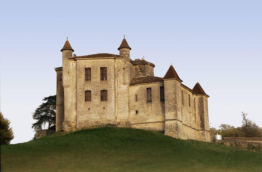 Exterior of a castle