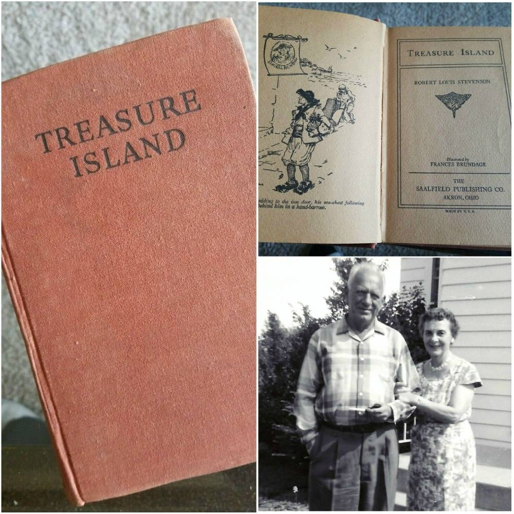 His Grandpa Was A Sailor And Loved Treasure