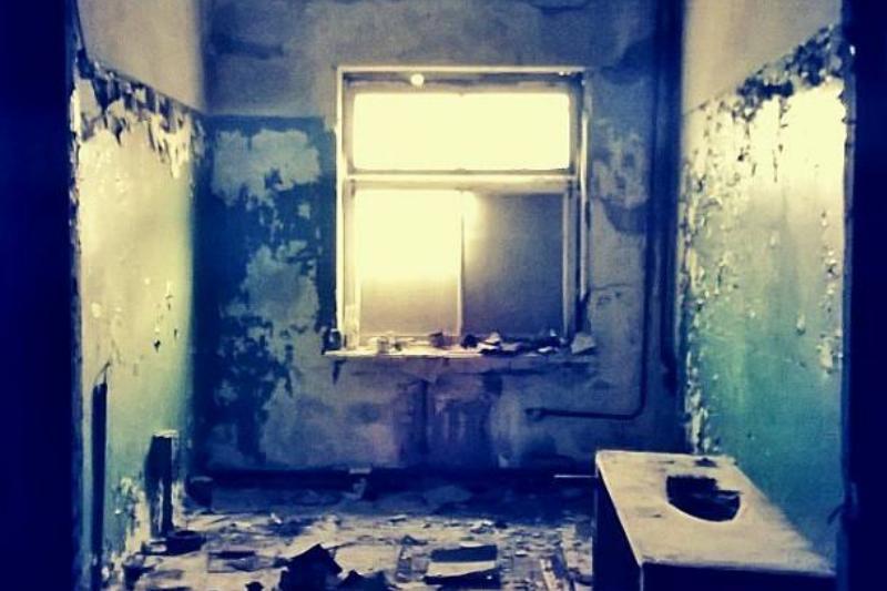 abandoned hole