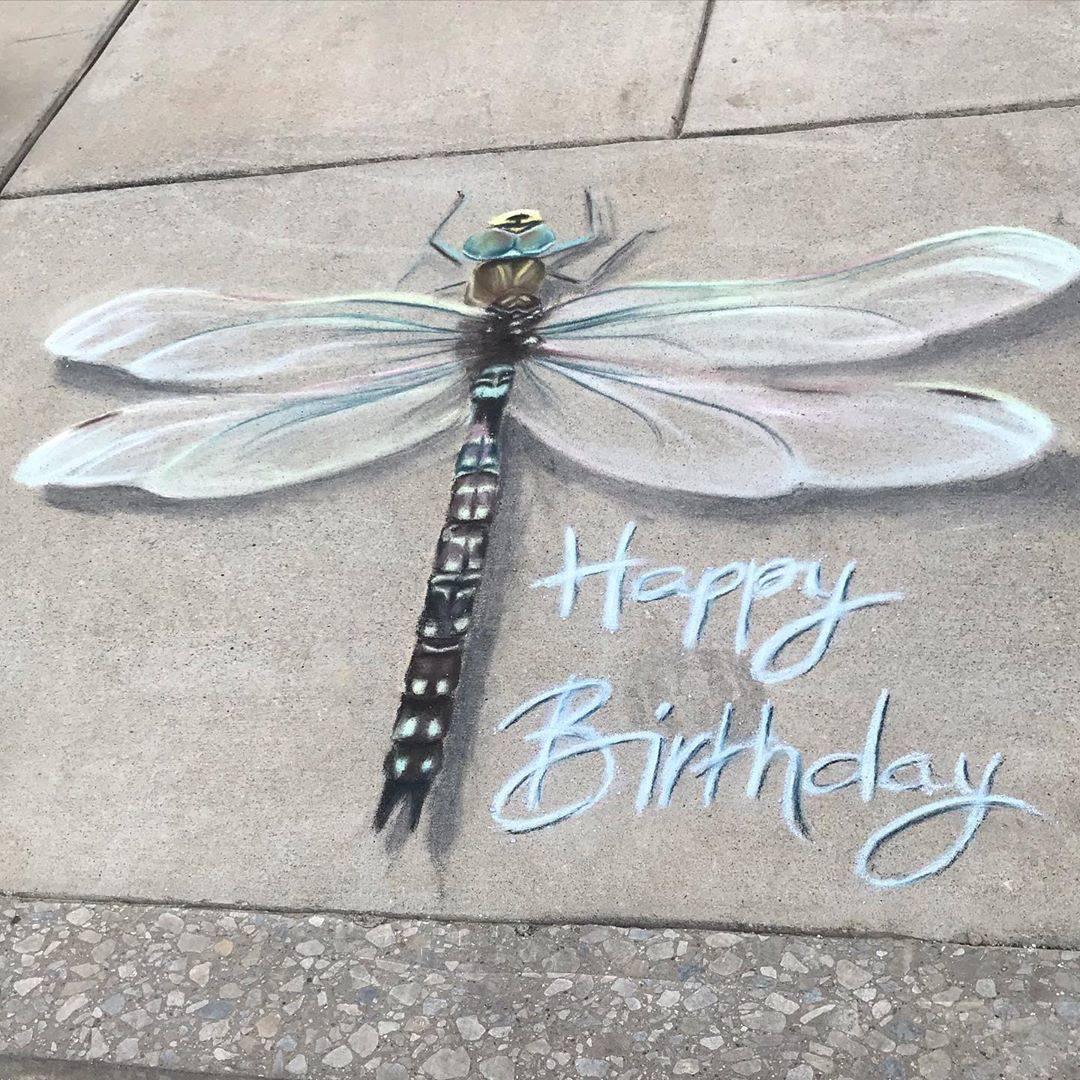 birthday dragonfly