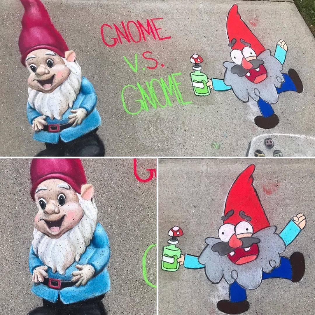 gnome chalk