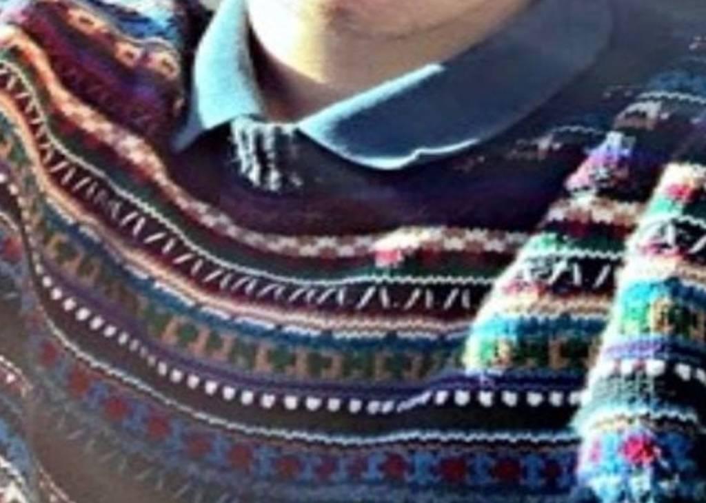 Man wearing a sweater
