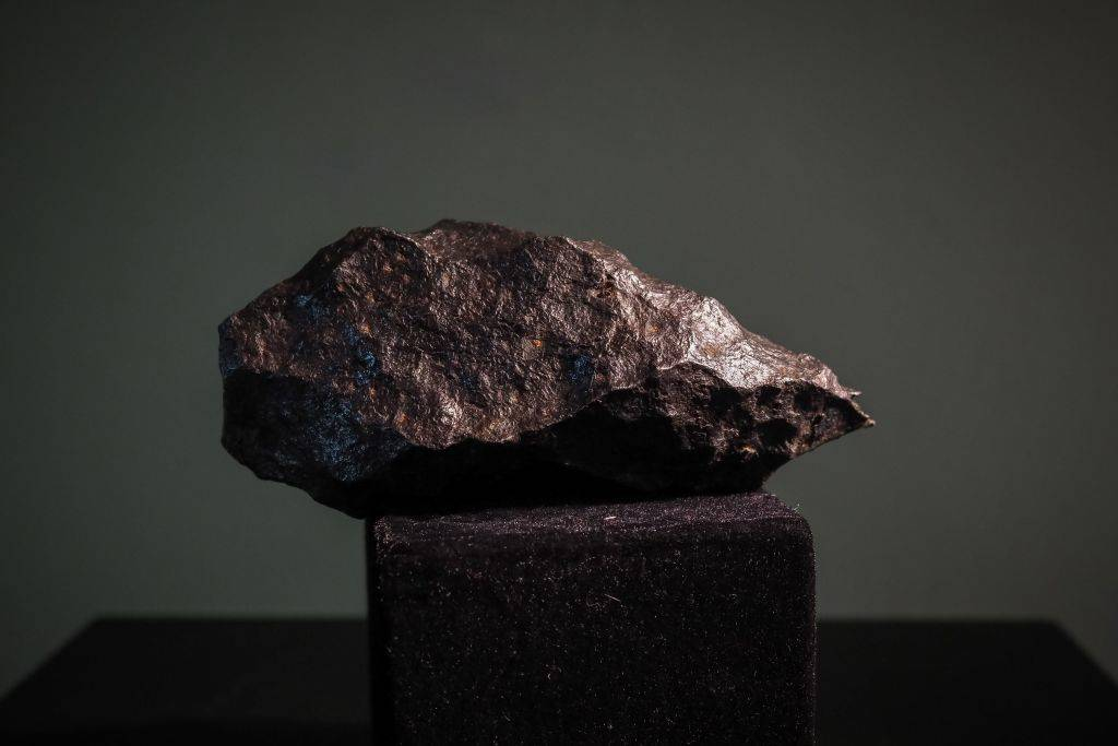 Picture of a meteor
