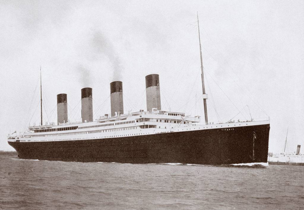 Picture of the Titanic