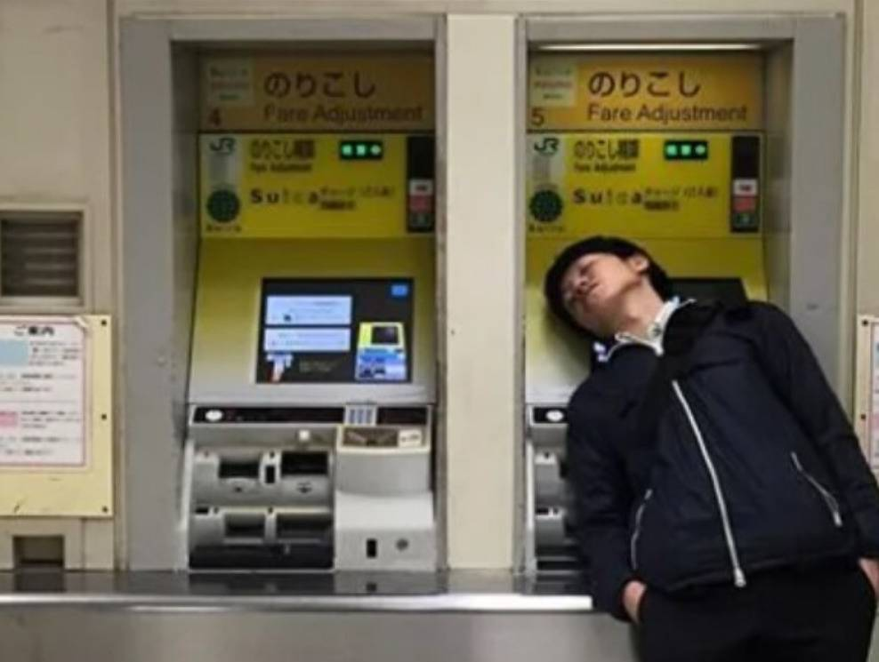 Maybe He's Dreaming The Money Out Of The ATM
