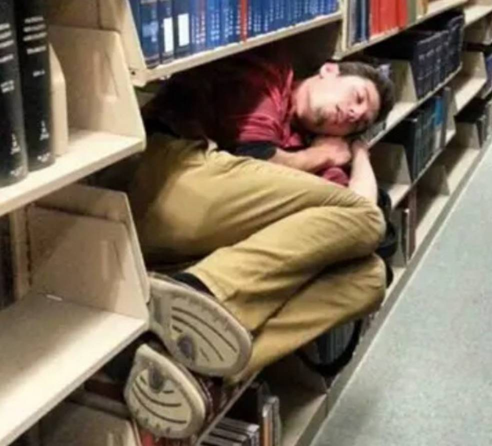 Nap Level: Finals Week