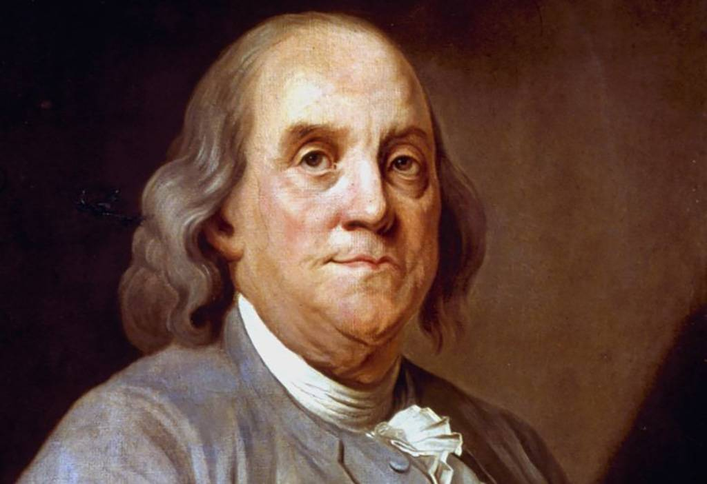 Portrait of Franklin