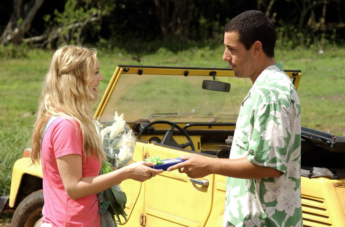 Actors in 50 First Dates