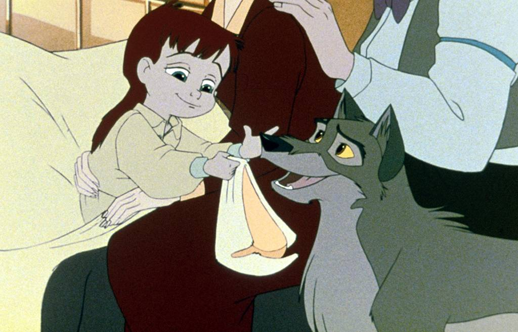 Animated characters in Balto