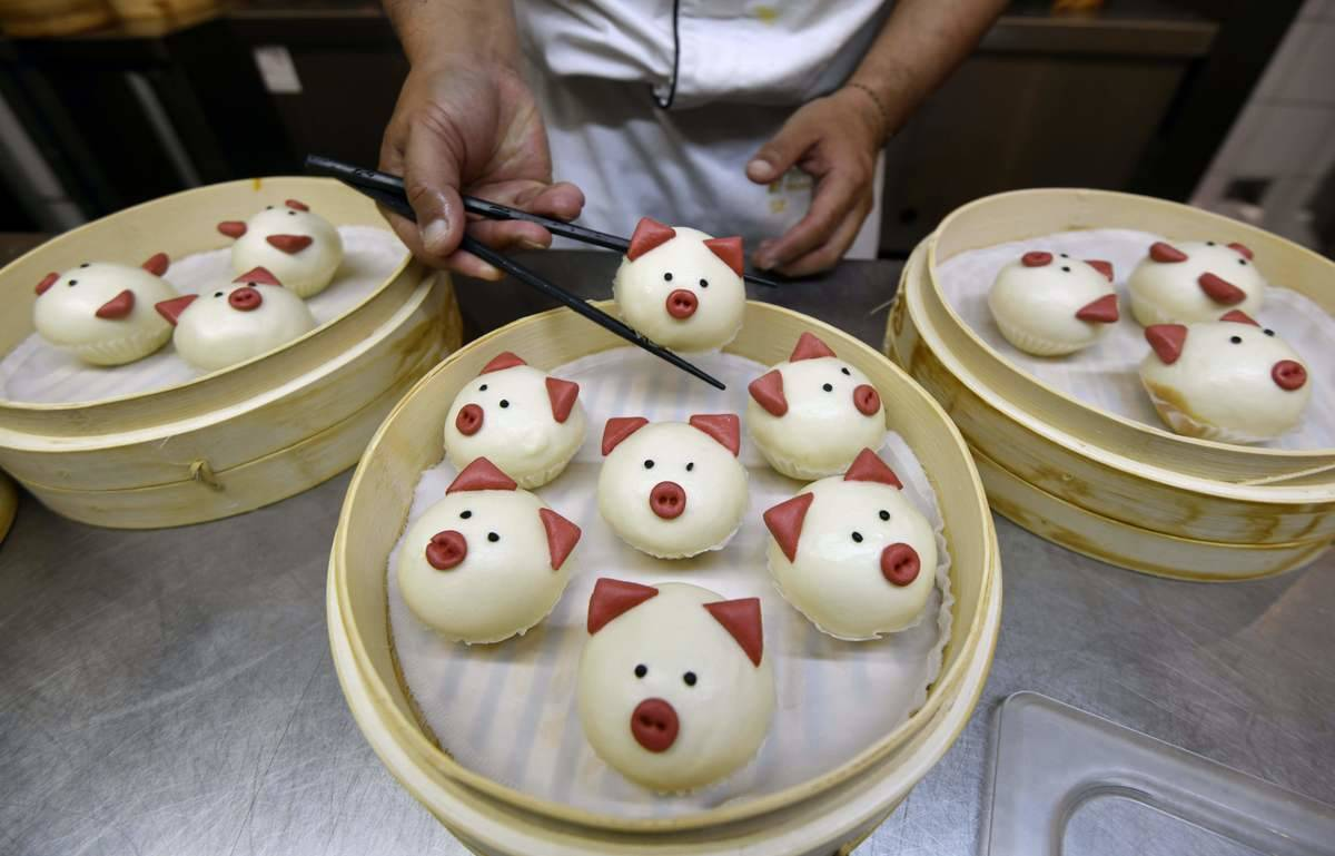 Bao (Or Baozi) Buns In China