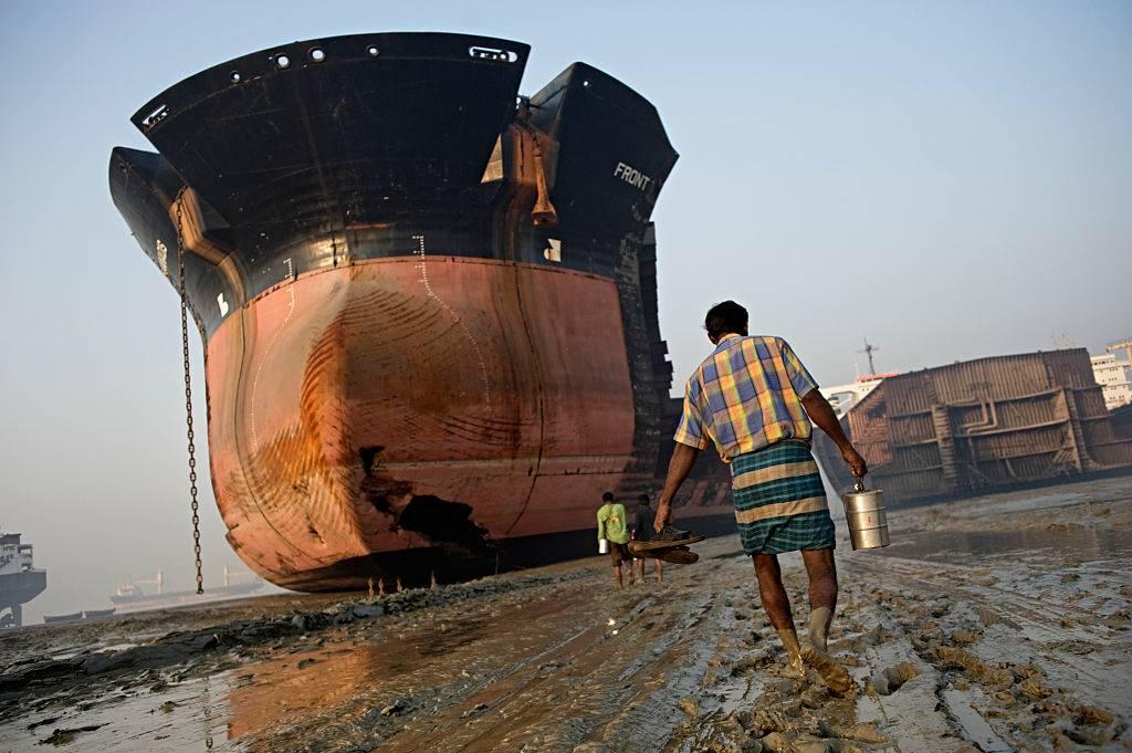 a ship yard in bangladesh