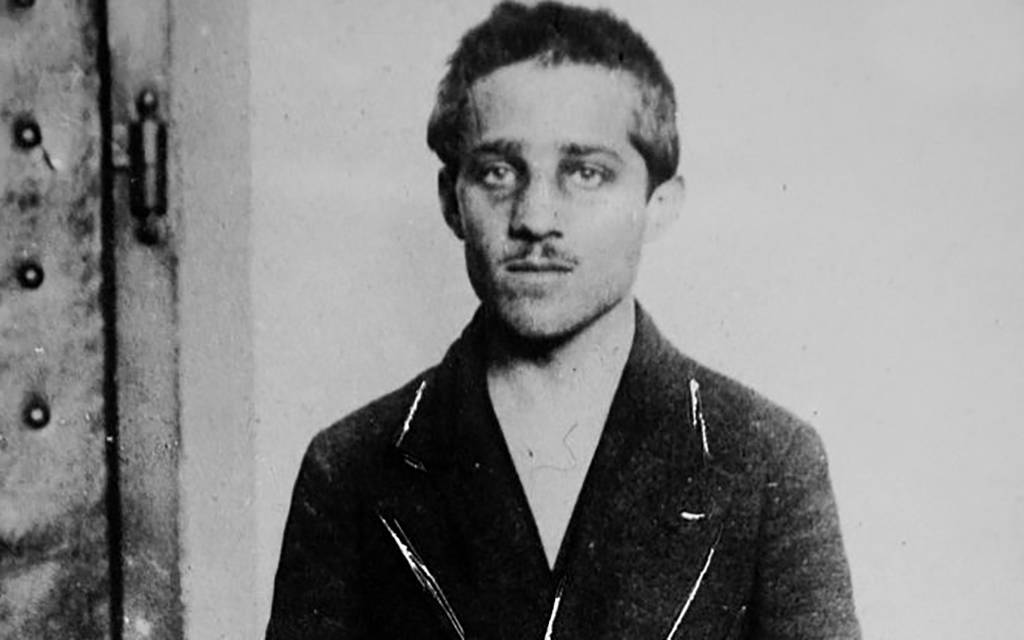 Picture of 19-year-old Gavrilo Princip