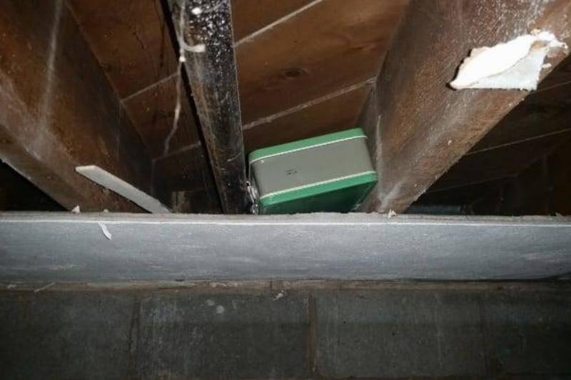 It Was A Green Metallic Box