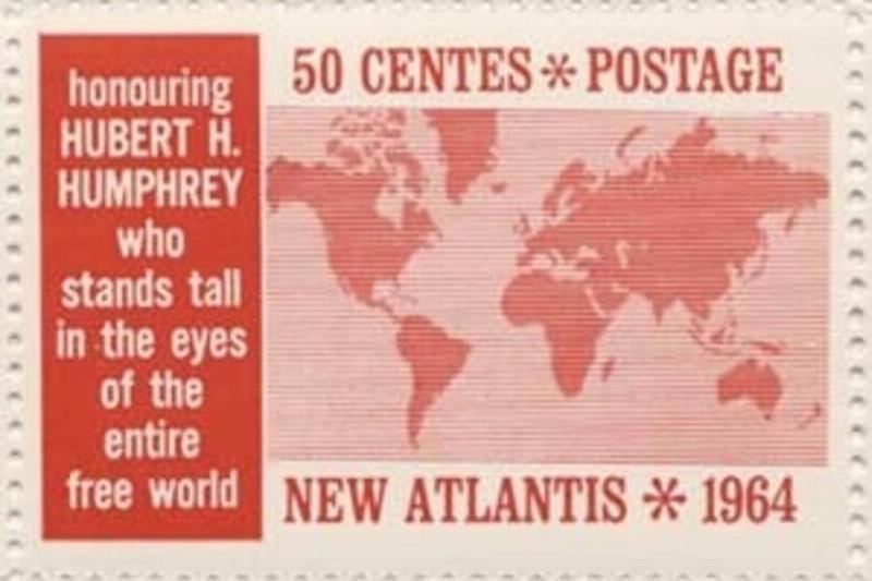 Postage for New Atlantis