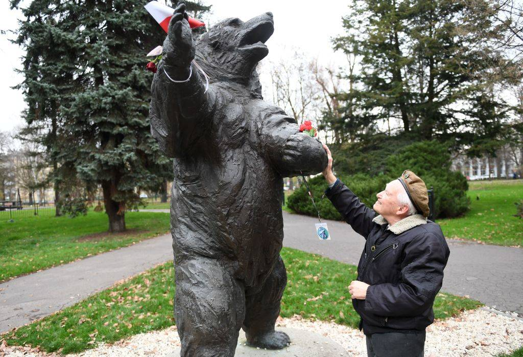Statue of the bear
