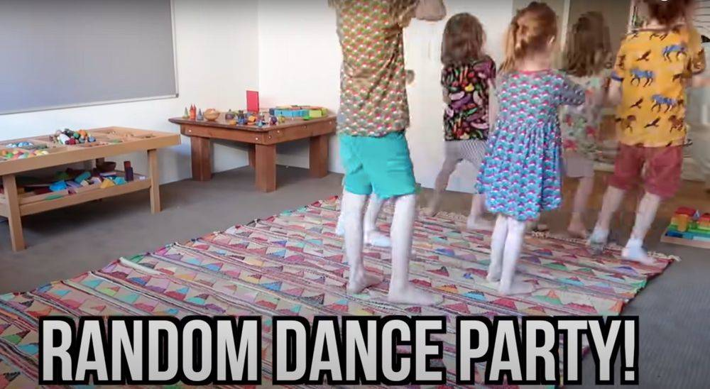 dance party by kids