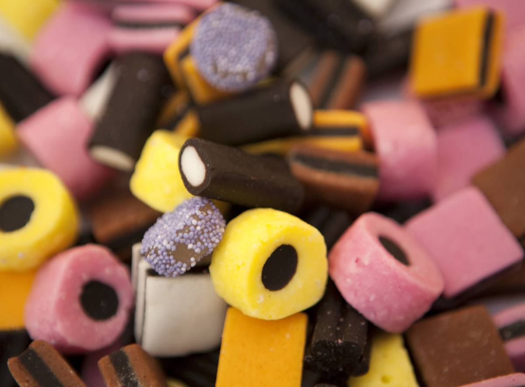Illustrative image of Basset's Liquorice Allsorts, part of the Cadbury group.