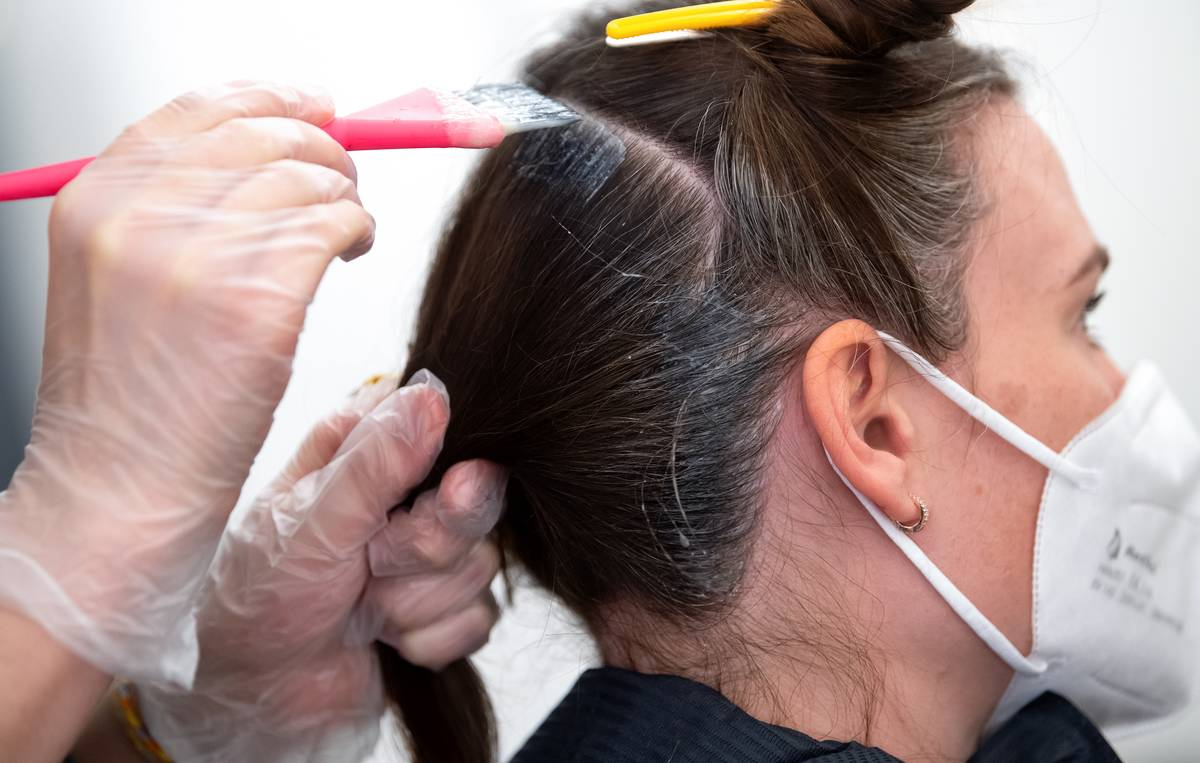 Coronavirus - Opening Hairdressers - Munich